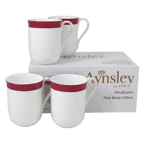 Aynsley Living Madison Fine Bone China mugs