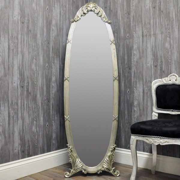 minster silver mirror