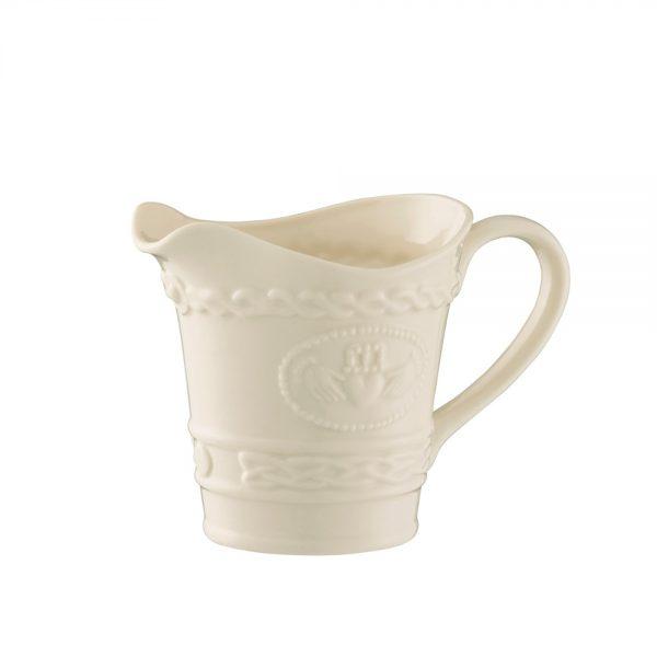 belleek claddagh cream mug