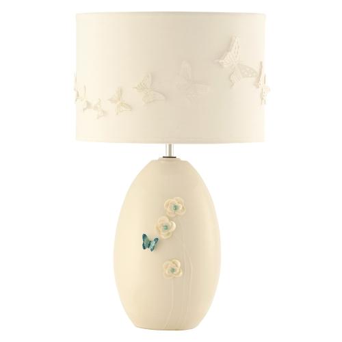 azure lamp and shade